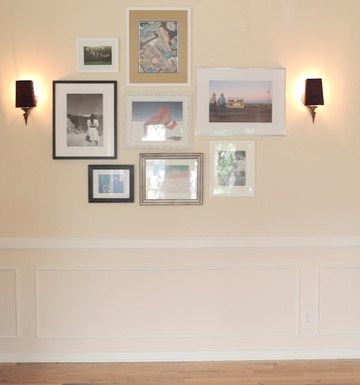 3 Steps To A Mix & Match Art Wall