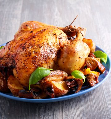 How to Roast a 6 lb. Stuffed Chicken