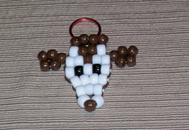 How to Make a Beaded Animal Keychain