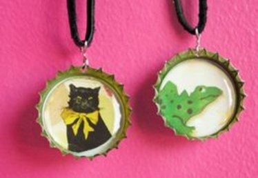 How to Make a Bottlecap Necklace