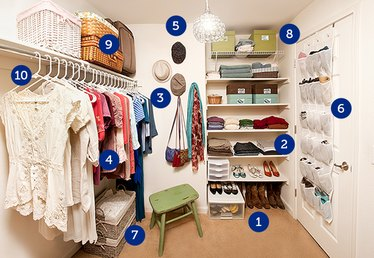 How to Organize a Clothing Closet