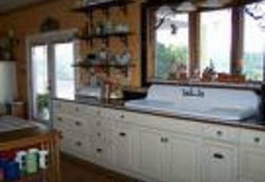 How to Install Vintage Kitchen Sinks