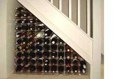 How to Build an Under-the-Stair Wine Rack