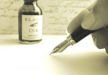How to Remove Fountain Pen Ink Stains
