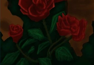 How to Paint Roses With Acrylics