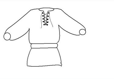 How to Make a Renaissance Tunic