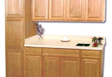 How to Refinish Laminate Cabinets