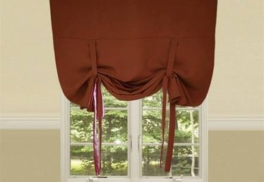 How to Make Relaxed Tie-Up Blinds