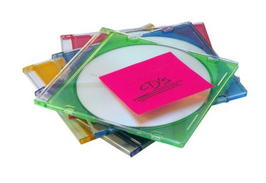How to Make Crafts From CD Cases