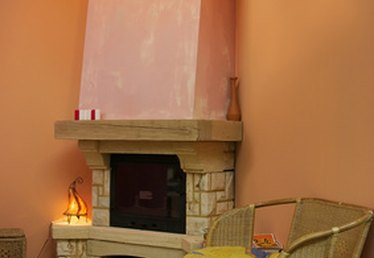 Recommended Mantel Height for a Fireplace