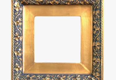 How to Make New Picture Frames Look Old