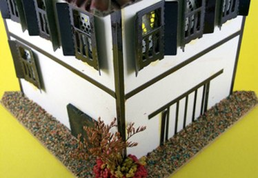 How to Build Model Houses From Balsa Wood