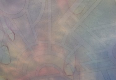 How to Dye Cotton Fabric With Watercolor Paint