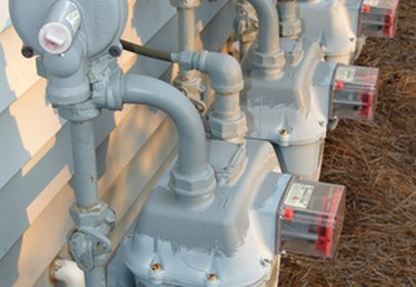 How to Connect a Natural Gas Meter