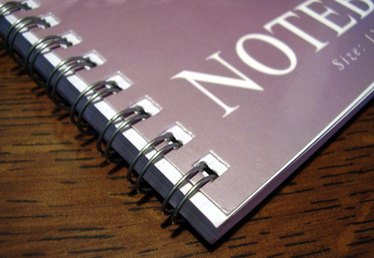 How to Decorate Spiral Notebooks