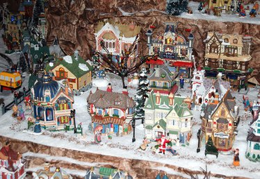 How to Make a Dickens Village Display