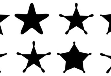 Fonts that Have Stars