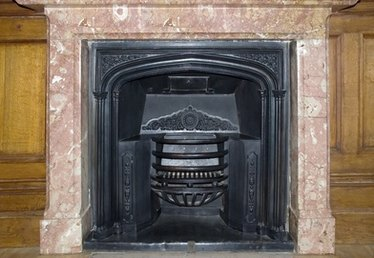 How to Cover a Marble Fireplace Surround
