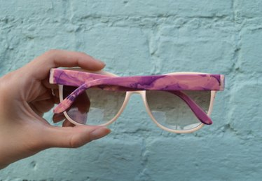 Make Your Own Marbled Sunglasses