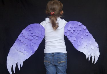 How to Make Wings for a Bird Costume