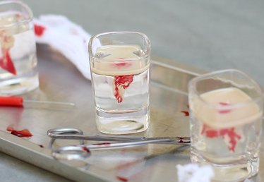 Brain Hemorrhage Jell-O Shot Tutorial