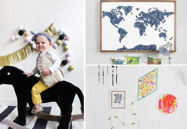 Use These Projects to Decorate a Kid's Room
