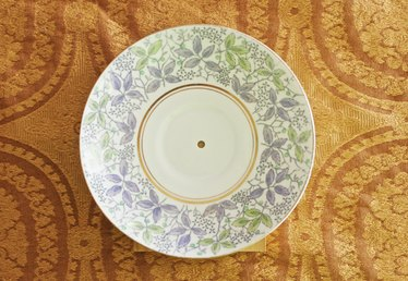 How to Drill a Hole in a China Plate