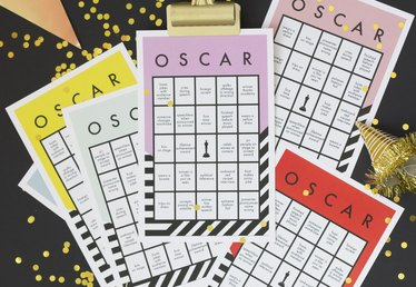 Host a Winning Oscars Party With Free Printable Bingo Cards