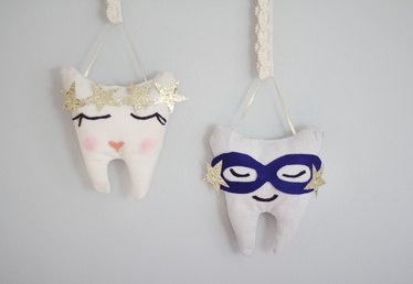 DIY No-Sew Tooth Fairy Pillow