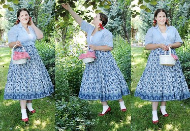DIY No-Sew Dorothy-Inspired Costume