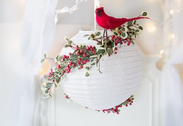 Christmas Paper Lantern Tutorial