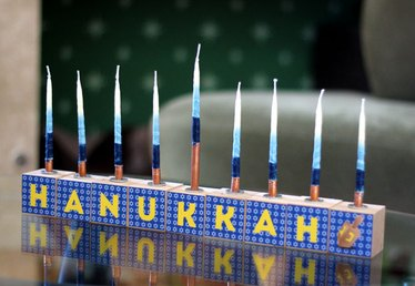 This Modular Block Menorah Brings a Creative Modern Touch to Hanukkah