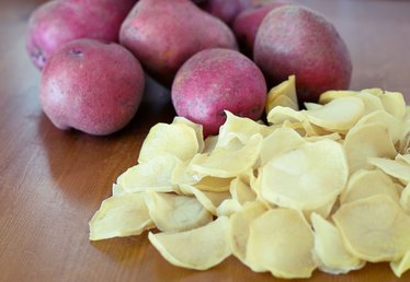 How to Dehydrate Potatoes