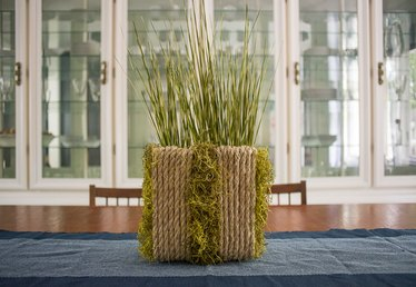 DIY Modern Upcycled Sisal Planter (Out of Cereal Boxes!)