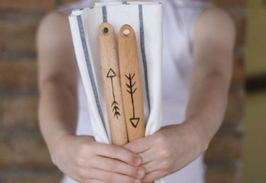 How to Customize Serving Utensils With a Wood Burning Tool