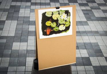 How to Make a Cardboard Easel