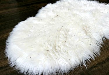 How to Clean a Faux Sheepskin Rug