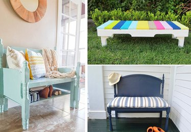 7 DIY Easy to Make Wooden Benches
