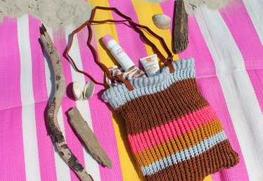 How to Knit a Bag on a Loom
