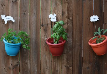 How to Upcycle Metal Barbecue Skewers Into Garden Markers