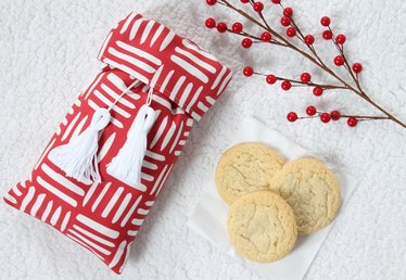 Adorable Cookie Bag for Your Cookie Exchange