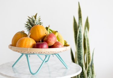 How to Make a Mid-Century Modern Inspired Fruit Basket