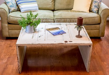 How to Make a Coffee Table From an Old Door