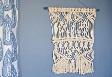You Too Can Make This On Trend Rope Wall Tapestry