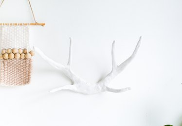 How to Make Fake Antlers With Clay