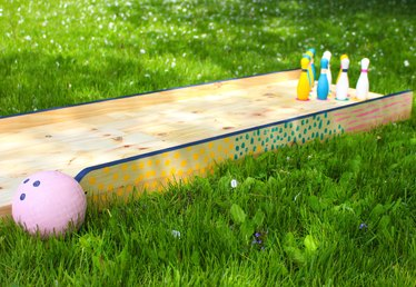 How to Build a Backyard Bowling Alley for Kids