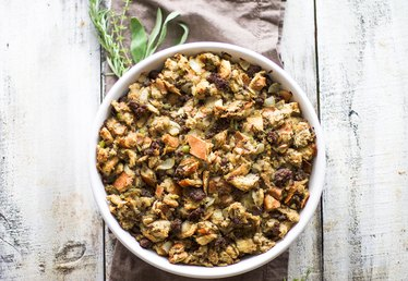 Turkey Stuffing Featuring Sausage Recipe
