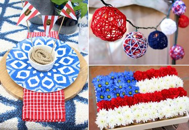 How to Decorate Your Backyard for a Fourth of July Party