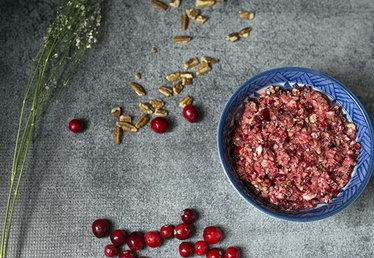 How to Make Cranberry Orange Relish with Pecans