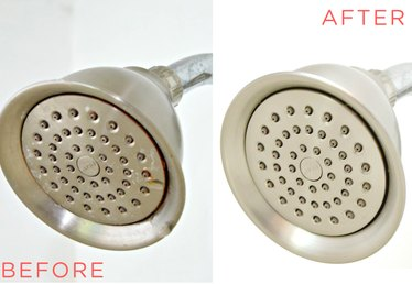 Easy Way to Clean Your Showerhead